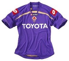 Fiorentina 2009-10 home shirt