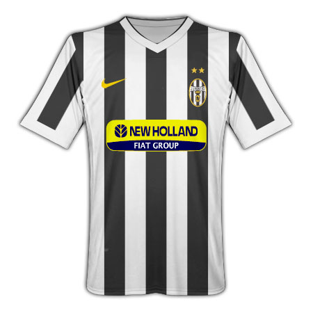 Juventus 2009-10 home shirt