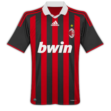 AC Milan 2009-10 home shirt