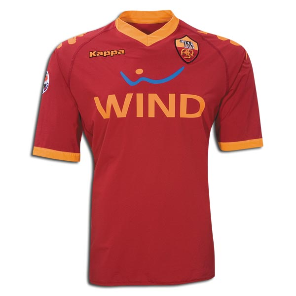 AS Roma 2009-10 home shirt