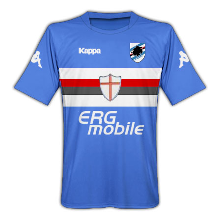 Sampdoria 2009-10 home shirt