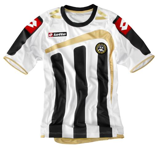 Udinese 2009-10 home shirt